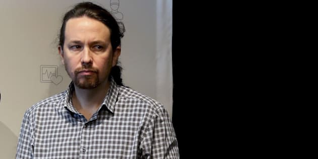 El líder de Podemos y secretario general, Pablo Iglesias.