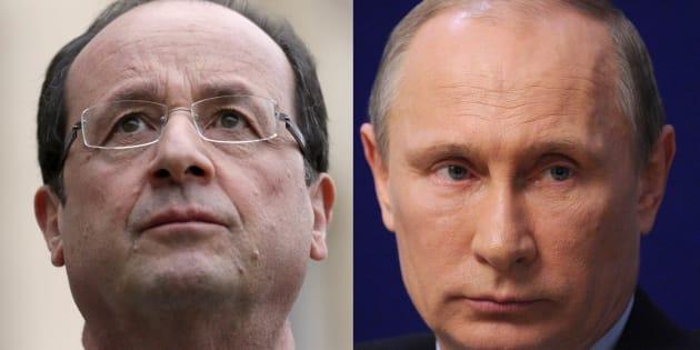 La visite privée de Poutine à Paris divise tout le monde.