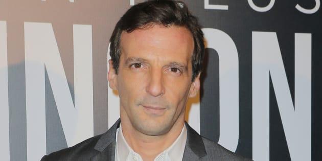 Mathieu Kassovitz le 17 novembre 2014 à Paris.  (AP Photo/Jacques Brinon)