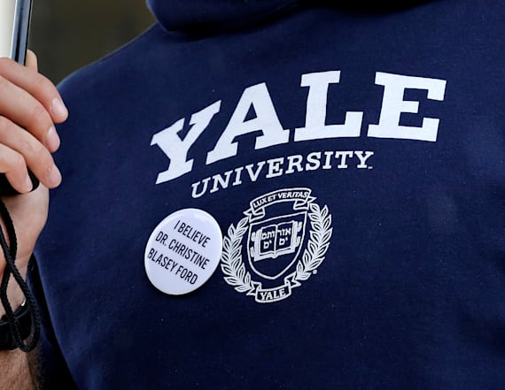 Yale students protest Kavanaugh, demand probe