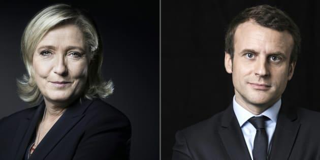 Marine Le Pen et Emmanuel Macron joue gros pendant cette dernière semaine.