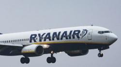 Un turista desnudo causa el caos en un vuelo de Ryanair hacia