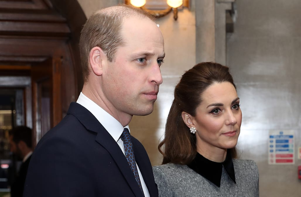Prince William, Duchess Kate mark 75th anniversary of Auschwitz liberation - AOL