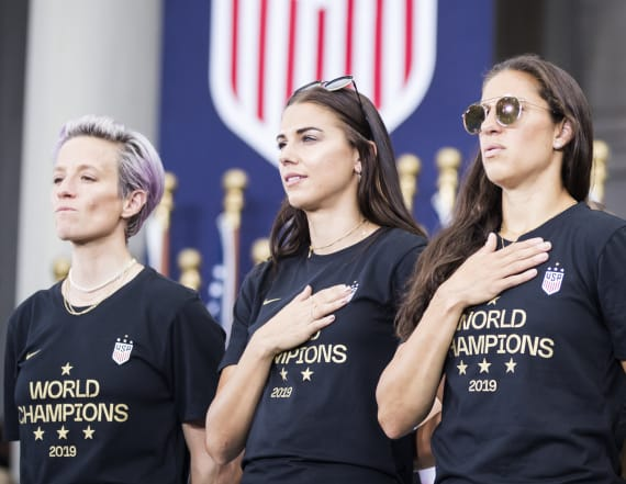 Deodorant brand announces massive donation to USWNT