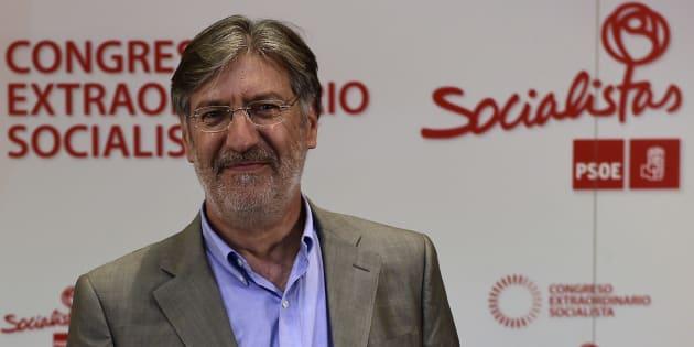Jose Antonio Perez Tapias durante las primarias para elegir al secretario general del PSOE en 2014. PIERRE-PHILIPPE MARCOU/AFP/Getty Images