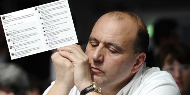 Dans une discussion sur Facebook, Julien Dray a menacé le directeur de cabinet de Stéphane Le Foll d'en venir aux mains.