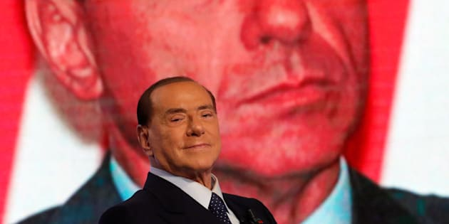"Italy's former Prime Minister Silvio Berlusconi is seen during the television talk show ""L'aria che tira"" in Rome, Italy, January 18, 2018. REUTERS/Remo Casilli"