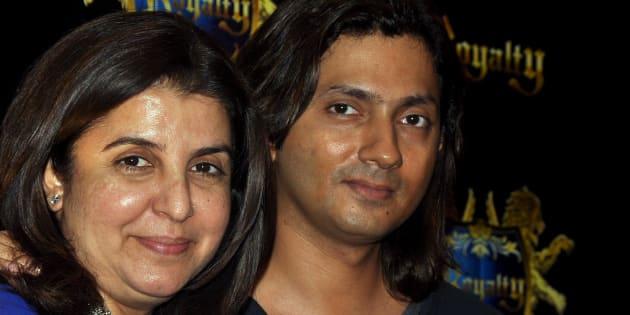 File photo of filmmaker and choreographer Farah Khan with husband Shirish Kunder.