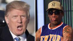 Quand Trump insultait Dennis Rodman qui voulait lui faire rencontrer Kim