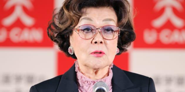 「2009ユーキャン新語・流行語大賞」授賞式・野村夫人 撮影日:2009年12月01日