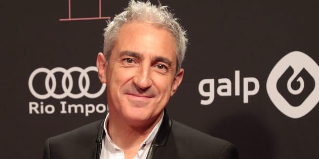 El periodista Jon Sistiaga, en los Premios Ondas 2016 en Barcelona.
