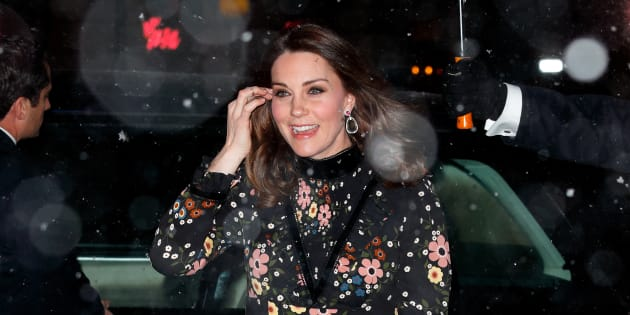 The Duchess of Cambridge visits London's National Portrait Gallery on Feb. 28, 2018.