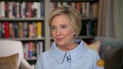 Promis juré, Clinton ne sera plus jamais candidate: