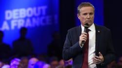 Dans l'Essonne, Dupont-Aignan en ballottage