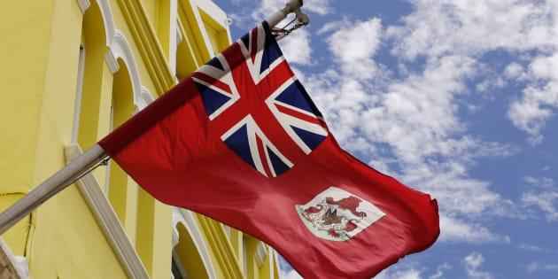 La bandera de Bermudas.