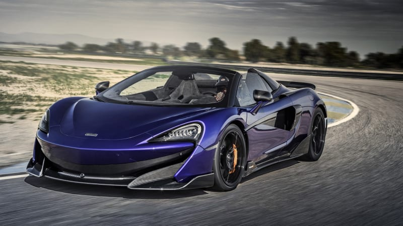 McLaren 600LT Spider First Drive Review