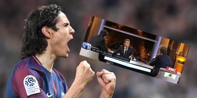 Le dilemme entre les matchs PSG - Monaco et Macron - Plenel-Bourdin a fait perdre la tête aux zappeurs