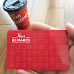 Tim Hortons FINALLY Has a Rewards