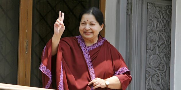 J Jayalalithaa in a file photo.