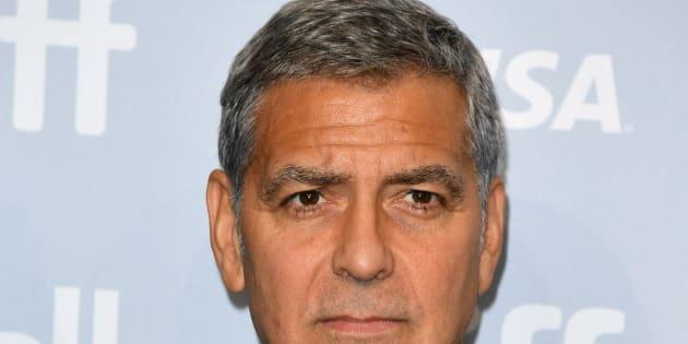 George Clooney avoue pleurer plus que ses jumeaux.
