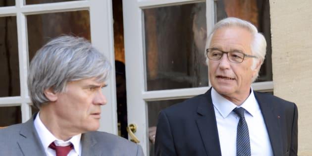 Stéphane Le Fol et François Rebsamen affirment que l'inversion de la courbe du chômage est réalisée.