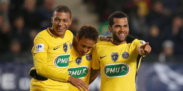 Le PSG étrille Rennes pour son entrée en coupe de France.