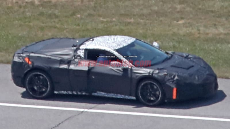 Latest mid-engine Chevy Corvette spy shots show more than ...