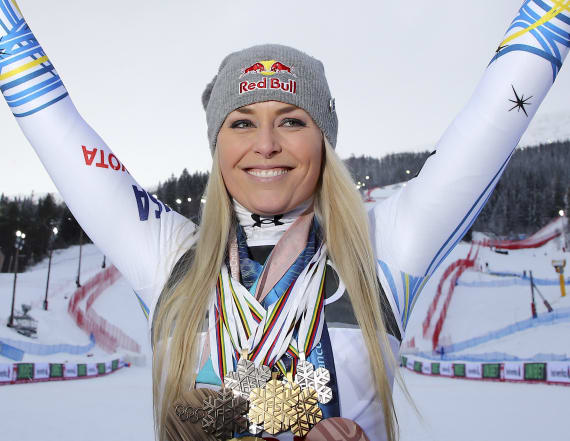 Vonn: Women can 'silence your haters with success'