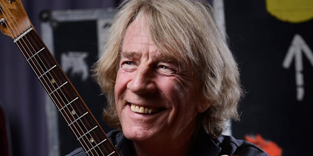 Rick had been performing with Status Quo for nearly half a century