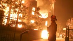 Des milliers de pompiers luttent contre les feux en