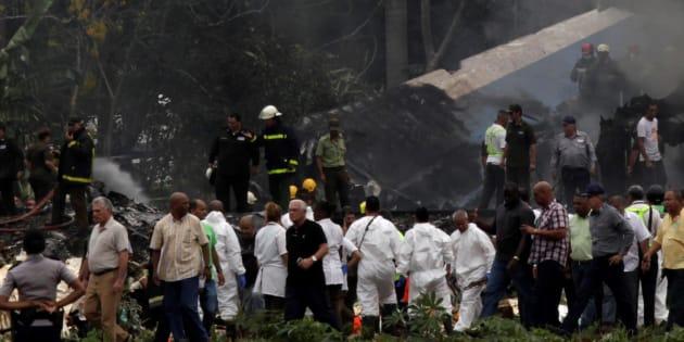 Crash aérien à Cuba: une survivante décède, le bilan passe à 111 morts.