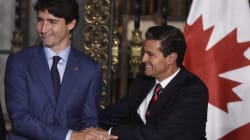 EN FOTOS: El primer día de Justin Trudeau en