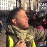 L'un des gilets jaunes qui ont insulté Finkielkraut connu de la police et proche de la mouvance