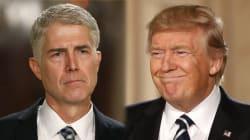 Aïe! Le juge que Trump vient à peine de nommer à la Cour suprême le trouve déjà