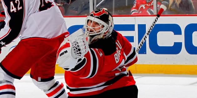 Martin Brodeur a passé la majorité de sa carrière avec les Devils du New Jersey.