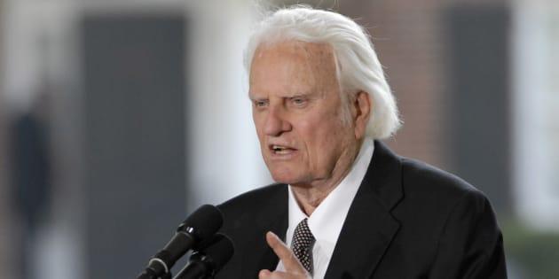 Le plus célèbre pasteur évangéliste, Billy Graham a tiré sa révérence — USA