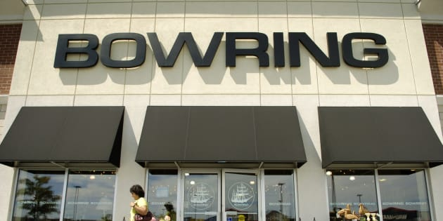 A Bowring store is pictured on Aug. 25, 2005.
