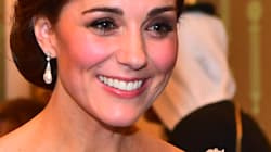 Kate Middleton se vistió como una princesa