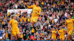 The Matildas' 2-1 Win Against Brazil Was Everything A Homecoming Should