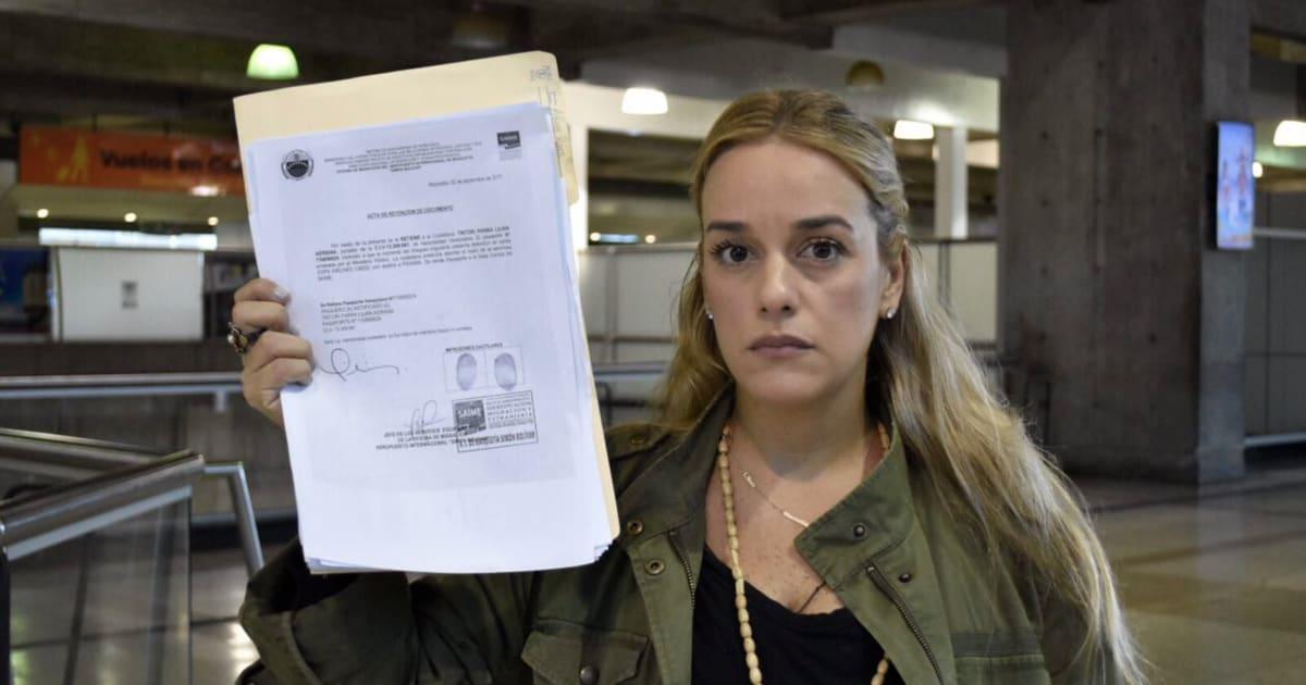 Tintori denuncia que las autoridades le han prohibido salir de Venezuela tras ser imputada