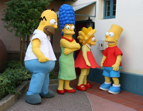 'Simpsons' drops white actors in non-white roles