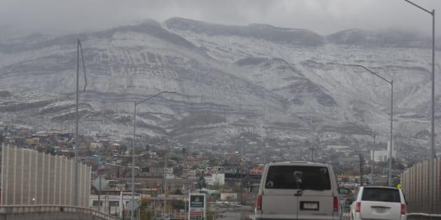 (Ciudad Juárez) Las nevadas en Chihuahua, Coahuila y Durango se esperan las más severas.