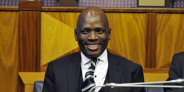 Hlaudi Motsoeneng pictured during a parliament meeting on 05 October 2016 in Cape Town, South Africa.