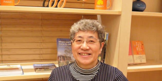マギーズ東京センター長の秋山正子さん