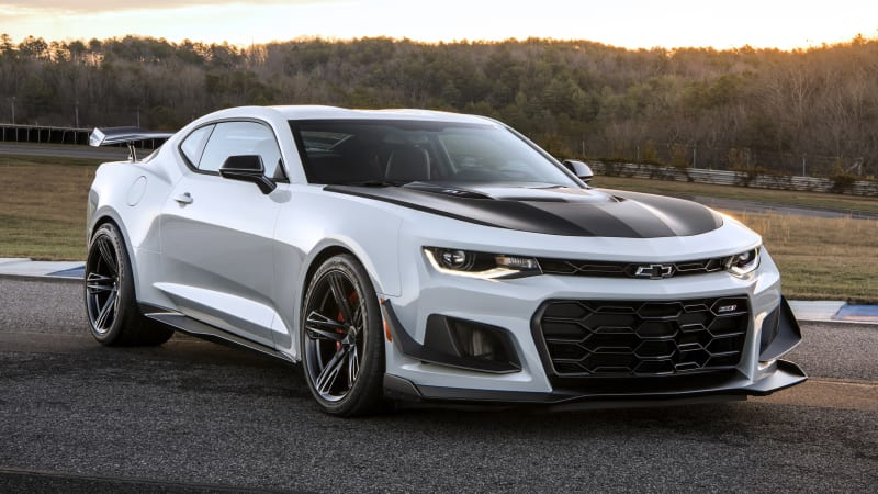 2019 Chevy Camaro Zl1 1le Faster With New Automatic Option Autoblog