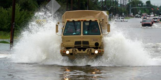 Harvey pourrait faire partie des 5 tempêtes les plus coûteuses jamais enregistrées aux États-Unis
