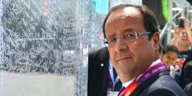 JO 2024 à Paris: les soutiens de François Hollande rappellent qu'il est le premier a avoir soutenu le projet (Photo: François Hollande en visite aux Jeux-Olympiques de Londres)