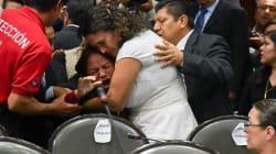 Una diputada mexicana se entera del asesinato de su hija en plena sesión del