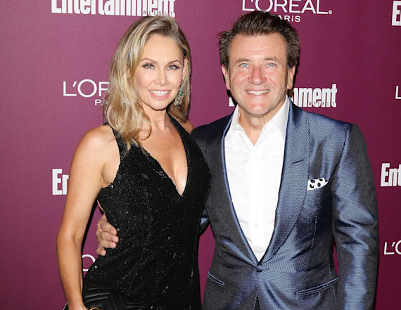 Kym Johnson and Robert Herjavec expecting
