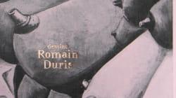 On a classé les dessins de Romain Duris selon les rubriques des sites